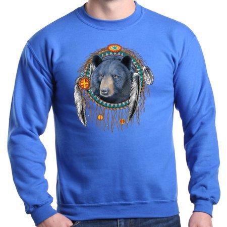 Shop4ever Shop4ever Mens Indian Bear Dreamcatcher Native American