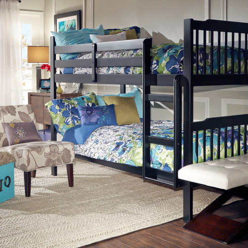 Elise Bunk Bed, Black