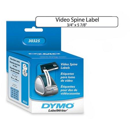 Dymo, DYM30325, LabelWriter Video Spine Labels, 150 / Box