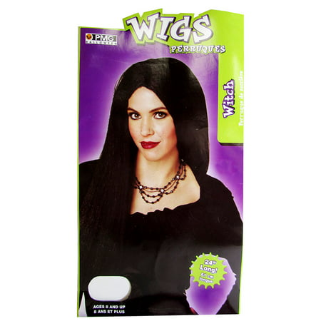 Paper Magic Group Women Witch Wig Halloween Costume Accessory, Black, One Size](Cute Halloween Ideas For Groups)