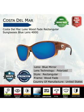 9fd42bae8cba6 Product Image Costa Del Mar Luke Wood Fade Rectangular Sunglasses