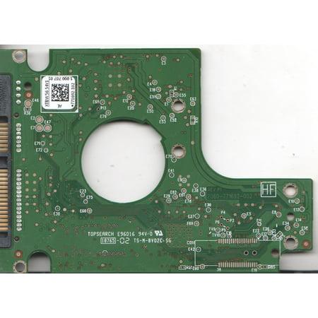 WD7500BPVT-00HXZT1, 771692-102 AE, WD SATA 2 5 PCB