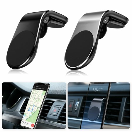 EEEKit Magnetic Car Phone Mount Universal Air Vent Clip Phone Holder Hands Free Car Phone Mount for iPhone Xs Max X XR 8 Plus, Samsung Galaxy S10 S10+ S10e S9 S8, More