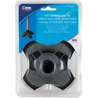 Carex Self Standing Cane Tip 1 ea (Pack of 4)