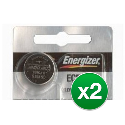 Replacement Battery for Energizer ECR1616 (2-Pack) Replacement Battery by Energizer