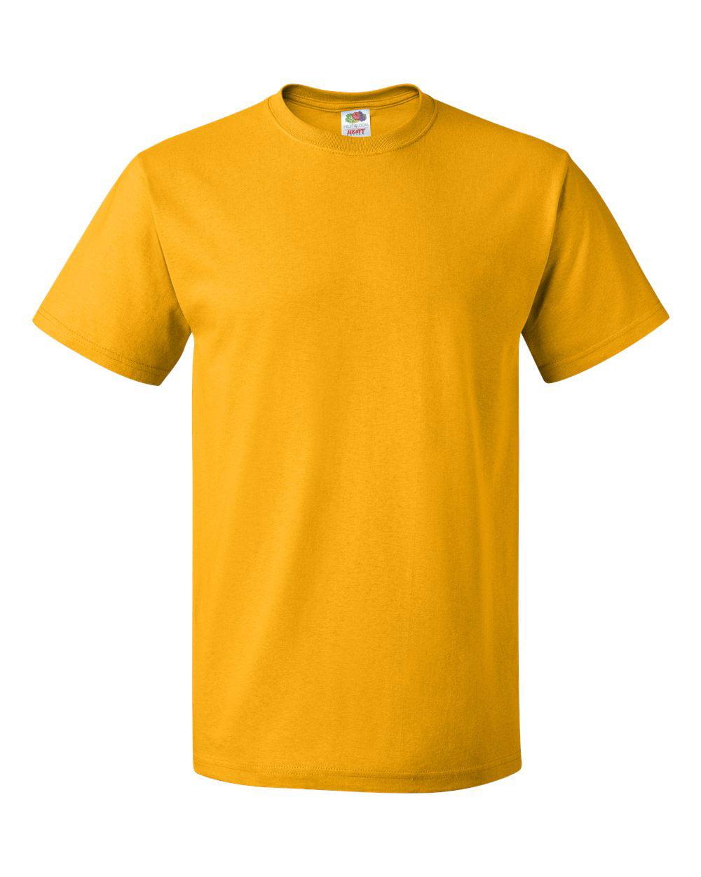 Fruit Of The Loom Mens HD Cotton Short Sleeve Crew T-Shirt, 2XL, Violet