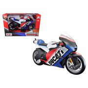 Ducati France Motor World Cycle Series Motorcycle Model by Maisto