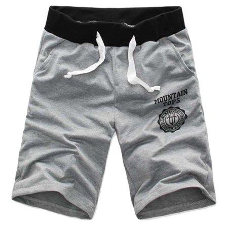 Summer New Men Casual Sports Beach Shorts Five Sub Pants Waistband Classic