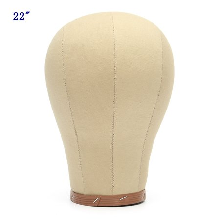 Mannequin Model Cork Head Canvas Block Manikin Head Wig Cap Stand Making Plate Bottom - Halloween Mannequin Head