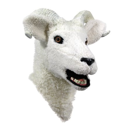 Moving Jaw Ram Mask Halloween Costume Accessory - Jaw Mask
