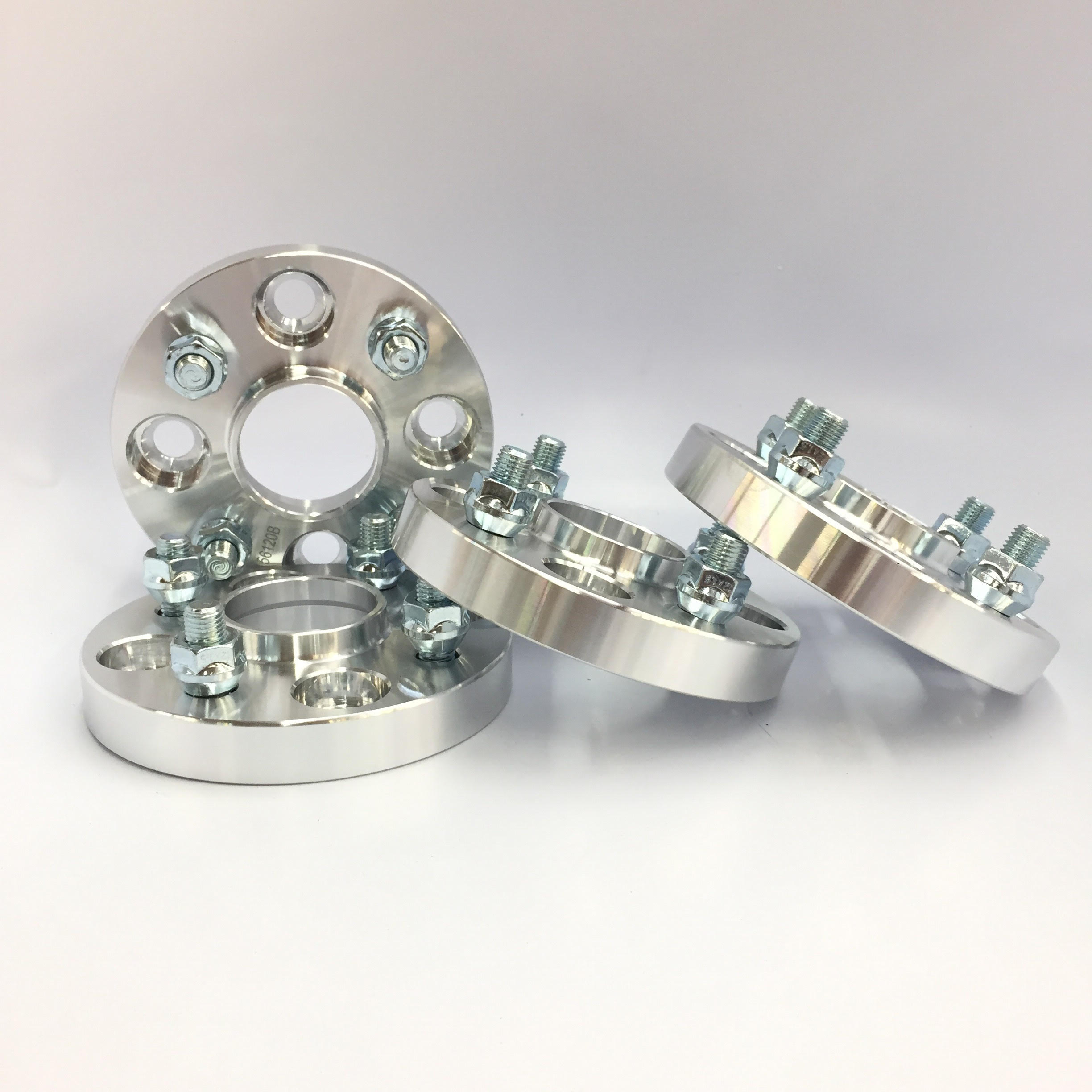 4X Hub Centric Wheel Spacers 4x100 57.1 CB 12X1.5 25MM 1 INCH