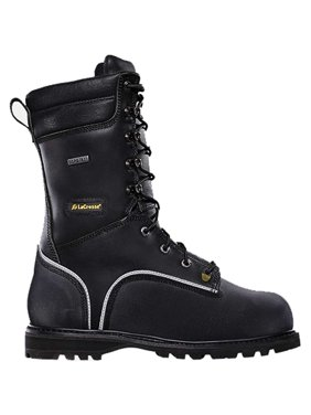 a845dc3e27f Black Mens Work Boots - Walmart.com