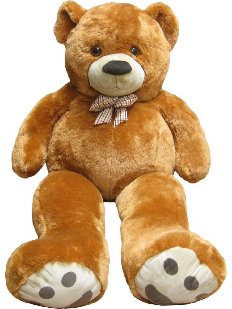 Kreative Kids Brown Giant Teddy Bear Stuffed Animal Toy 5 Feet by Kreative Kids