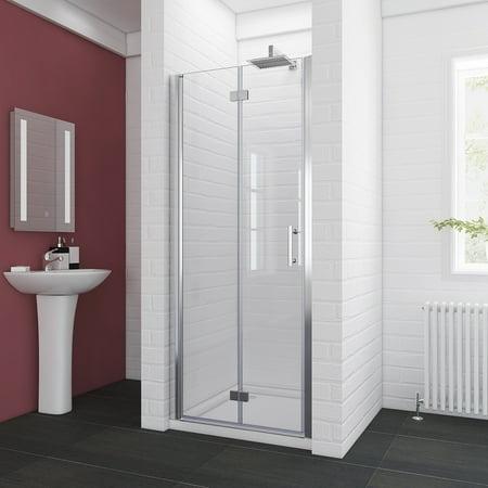 32 Frameless Shower Door (SUNNY SHOWERS 32