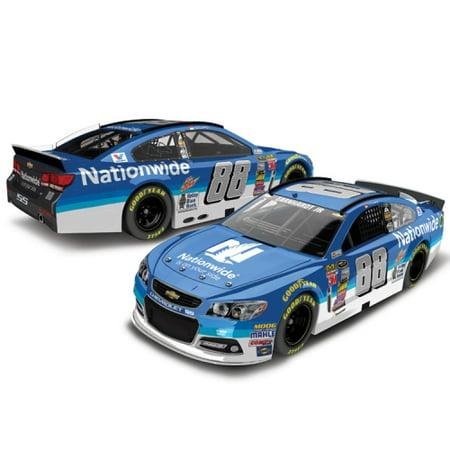 Dale Earnhardt 3 Car - Dale Earnhardt Jr. Action Racing 2015 #88 Nationwide 1:24 Scale Platinum Die-Cast Chevrolet SS - No Size
