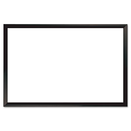 The Board Dudes Magnetic Dry Erase Board 36 Quot X 24 Quot Black