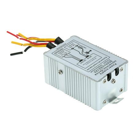 Power Inverter 24V to 12V DC-DC Car Power Supply Inverter Converter Conversion Device (Best Power Inverter For The Money)