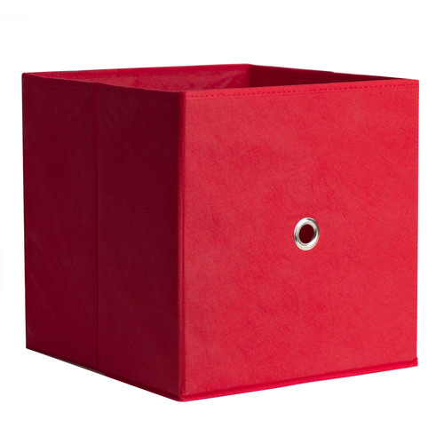 iCube Full Fabric Drawer Red