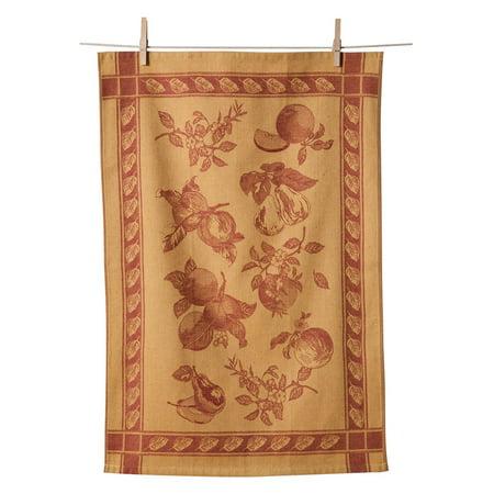 Apple Kitchen Tea Towel - KAF HOME Apple Jacquard Dishtowel - Set of 2