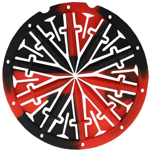 KM Dagger Spine Speed Feed for Dye Rotor - Fire