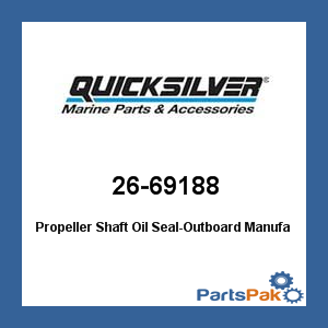 Propeller Shaft Bushing (Mercury - Mercruiser 26-69188 Mercury Quicksilver 26-69188 Propeller Shaft Oil)