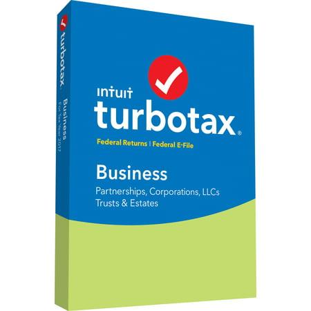 Turbotax Business Fed Efile 2017