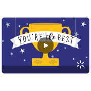 Trophy Award Walmart eGift Card
