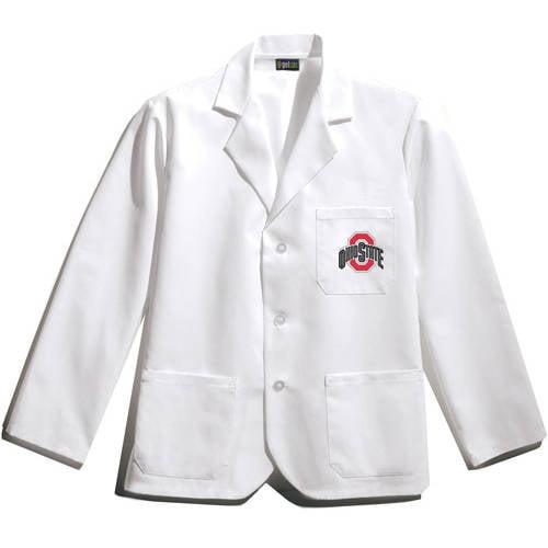 NCAA Big Ten - Short White Labcoat
