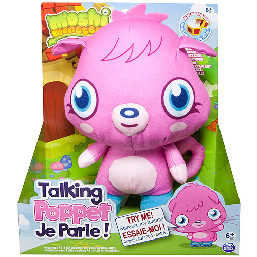 Moshi Monsters Talking Plush Toy, Poppet