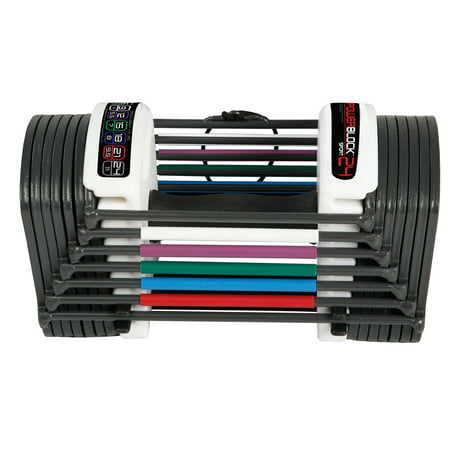 PowerBlock Sport 24lb Speedblock adjustable dumbbell