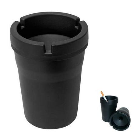 Outdoor Ashtray Cigarette - 1 Jumbo Butt Bucket Smokeless Ashtray Travel Auto Cigarette Odor Extinguishing !