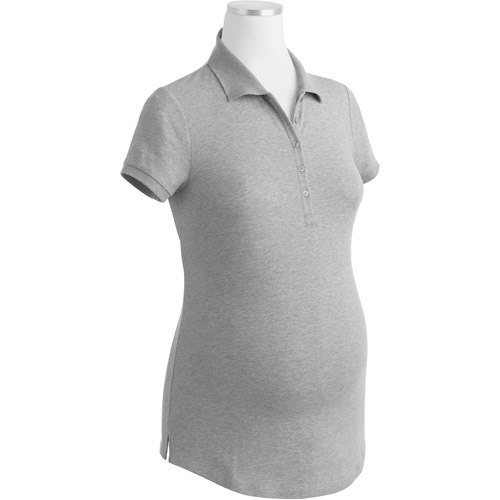 Faded Glory Maternity Knit Polo