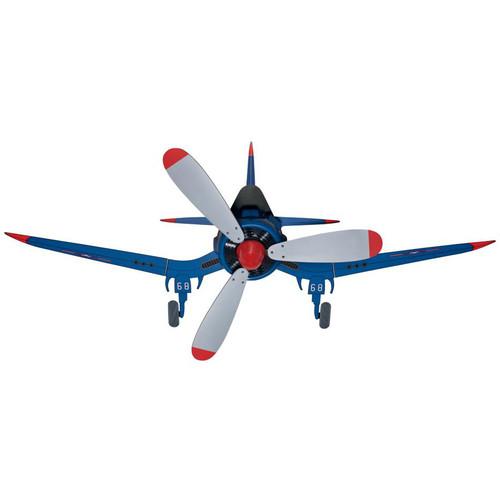 "Hunter Fan Company 59031 Fantasy Flyer 48"" Blue Ceiling Fan with 3 Grey Blades by Hunter"