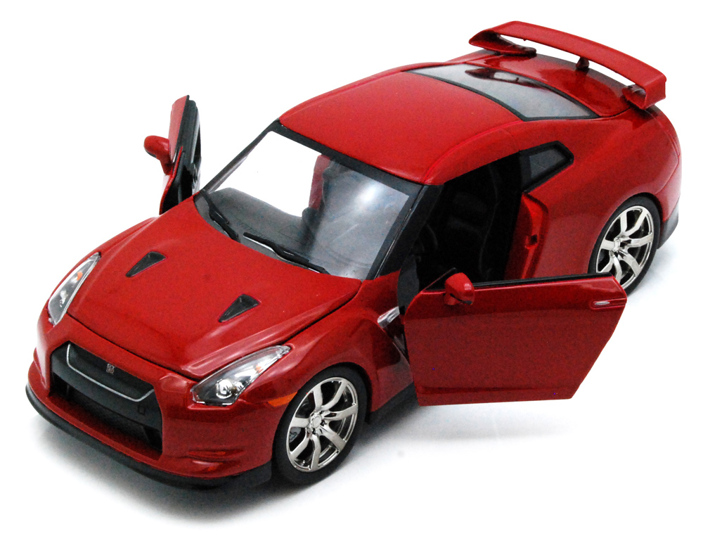 Nissan GT-R, Red Jada Toys Bigtime Kustoms 92196 1 24 scale Diecast Model Toy Car (Brand... by Jada