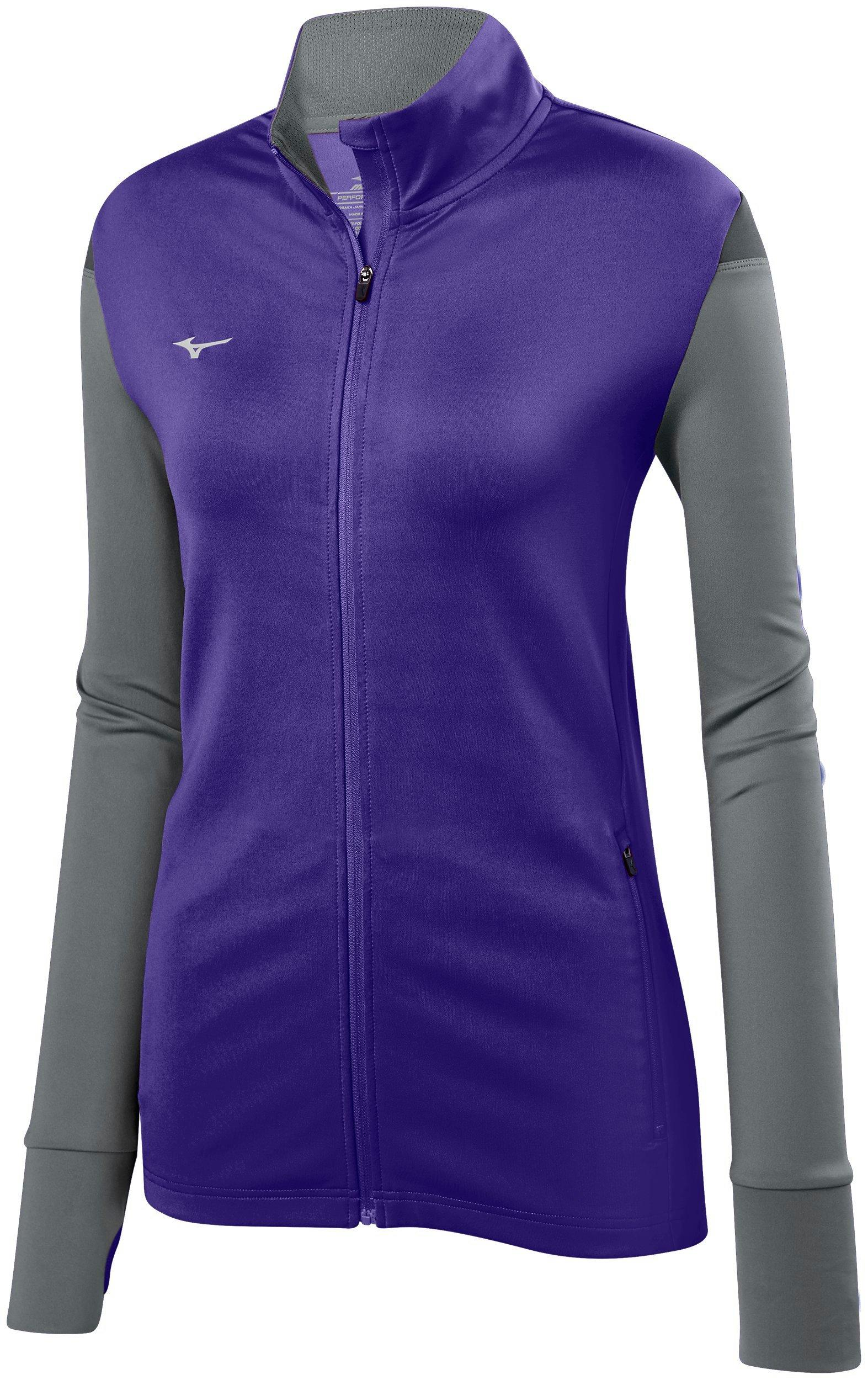 Mizuno Womens Volleyball Apparel Horizon Full Zip Volleyball Jacket 440660 by Mizuno