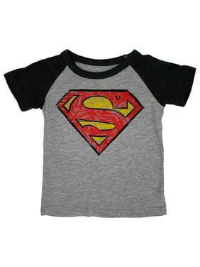 BOY/'S BABY ROYAL BLUE T-SHIRT SUPERMAN PERSONALIZED Sz 18 mos months 100/% cotton