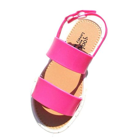 Outtop Fashion Sandals Kids Girls Jelly Party Princess Casual Beach Shoes HOT 25