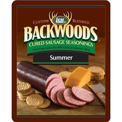 Brand New Summer Sausage Seasoning Makes 25 lbs. by