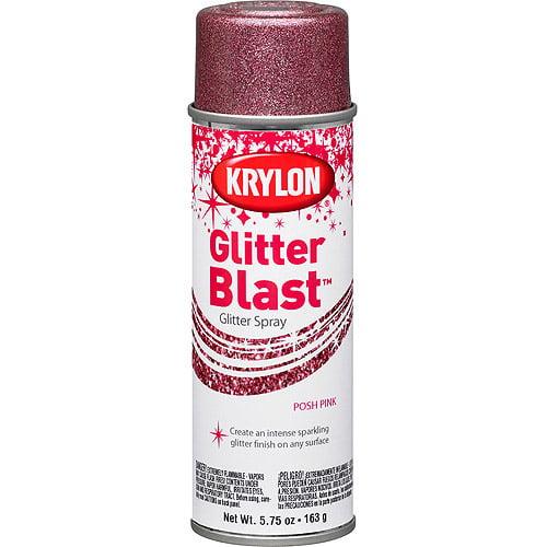 Krylon Glitter Blast, Posh Pink