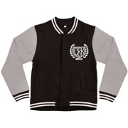 Comeback Kid Men's  Watchful Eye Varsity Jacket Black