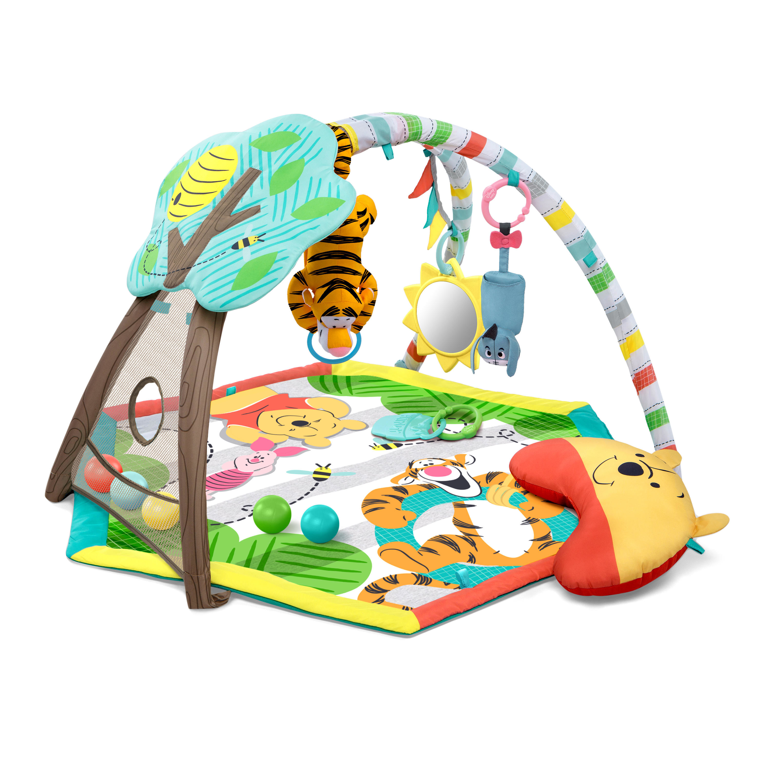 Disney Baby Winnie The Pooh Happy As Can Bee Activity Gym