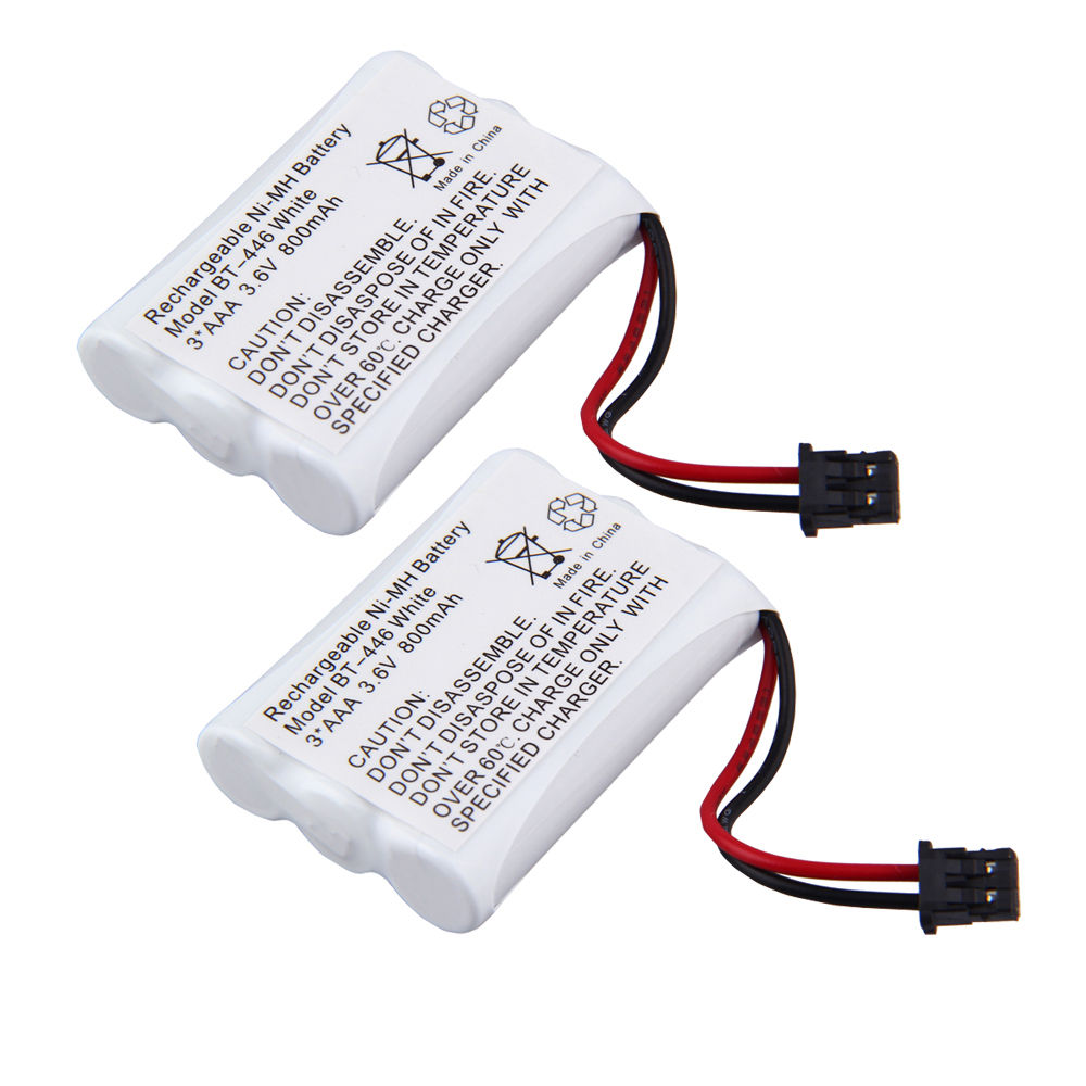2X Cordless Home Phone Battery for Uniden TRU-448-2, TRU-4482, TRU-4485, TRU-4485-2, TRU-44852, TRU-5860, TRU-5860-2, TRU-58602, TRU-5865-2, TRU-58652, TRU-5885