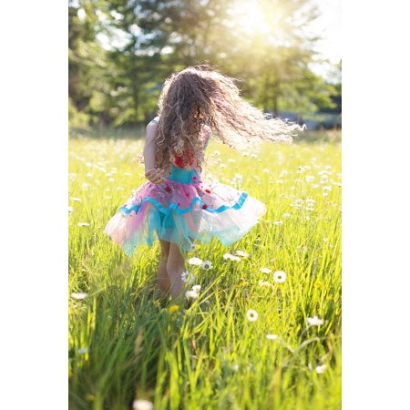 Little Girl Ballerina Twirl Dance Twirling Poster Print 24 x - Twirly Girl