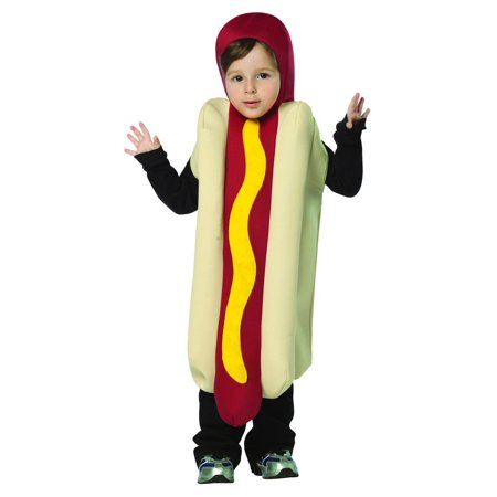 Hot Dog Lightweight Child Halloween Costume - Halloween Hotdog Fingers