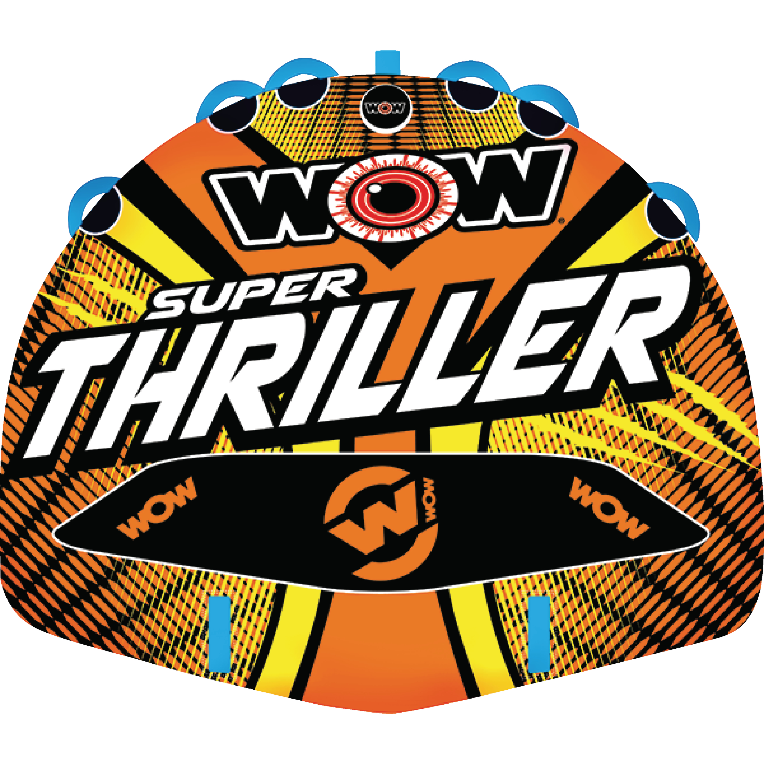 WOW 181020 Super Thriller Inflatable Towable for 1-3 Riders by WOW Watersports USA