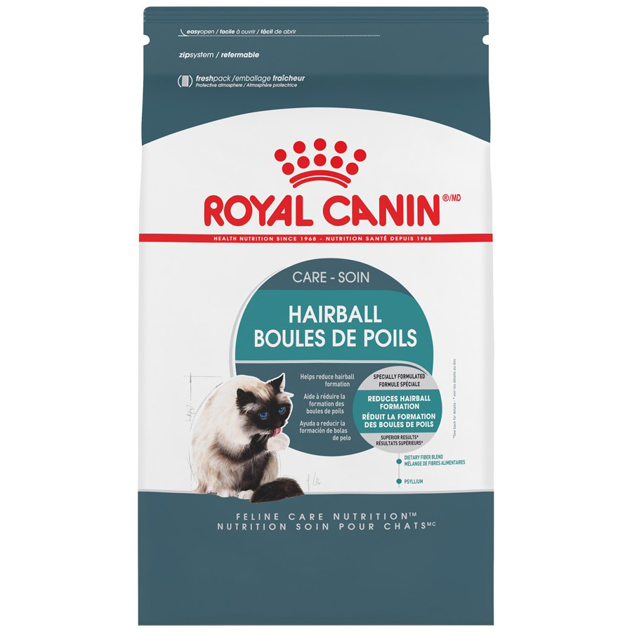 Royal Canin Indoor Intense Hairball 34 Dry Cat Food, 6 lb