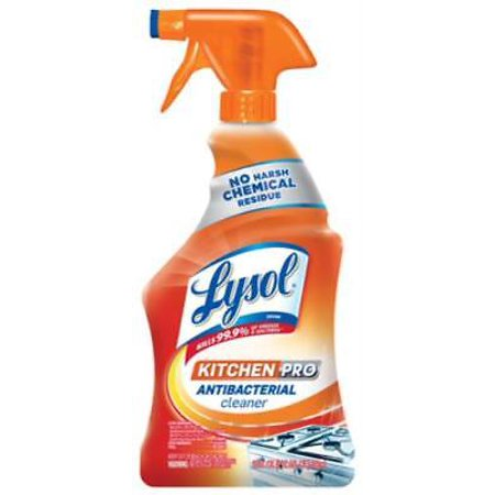 Antibacterial Kitchen (NEW 2PK Lysol 22 OZ Antibacterial Kitchen Cleaner Kills Harmful)