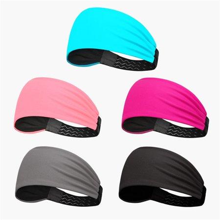 Fashion Sports Headband Women'S Fitness Sweat-Absorbent Wide-Brimmed Headband - image 6 of 6