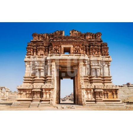 Vijayanagara Hindu Temple Print Wall Art By (Best Hindu Temples In Usa)