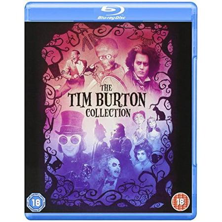 Tim Burton Collection - 8-Disc Box Set ( Batman / Batman Returns / Beetlejuice / Mars Attacks! / Pee-wee's Big Adventure / Charlie and the Chocolate Fact [ Blu-Ray, Reg.A/B/C Import - United Kingdom (Returns Collector)